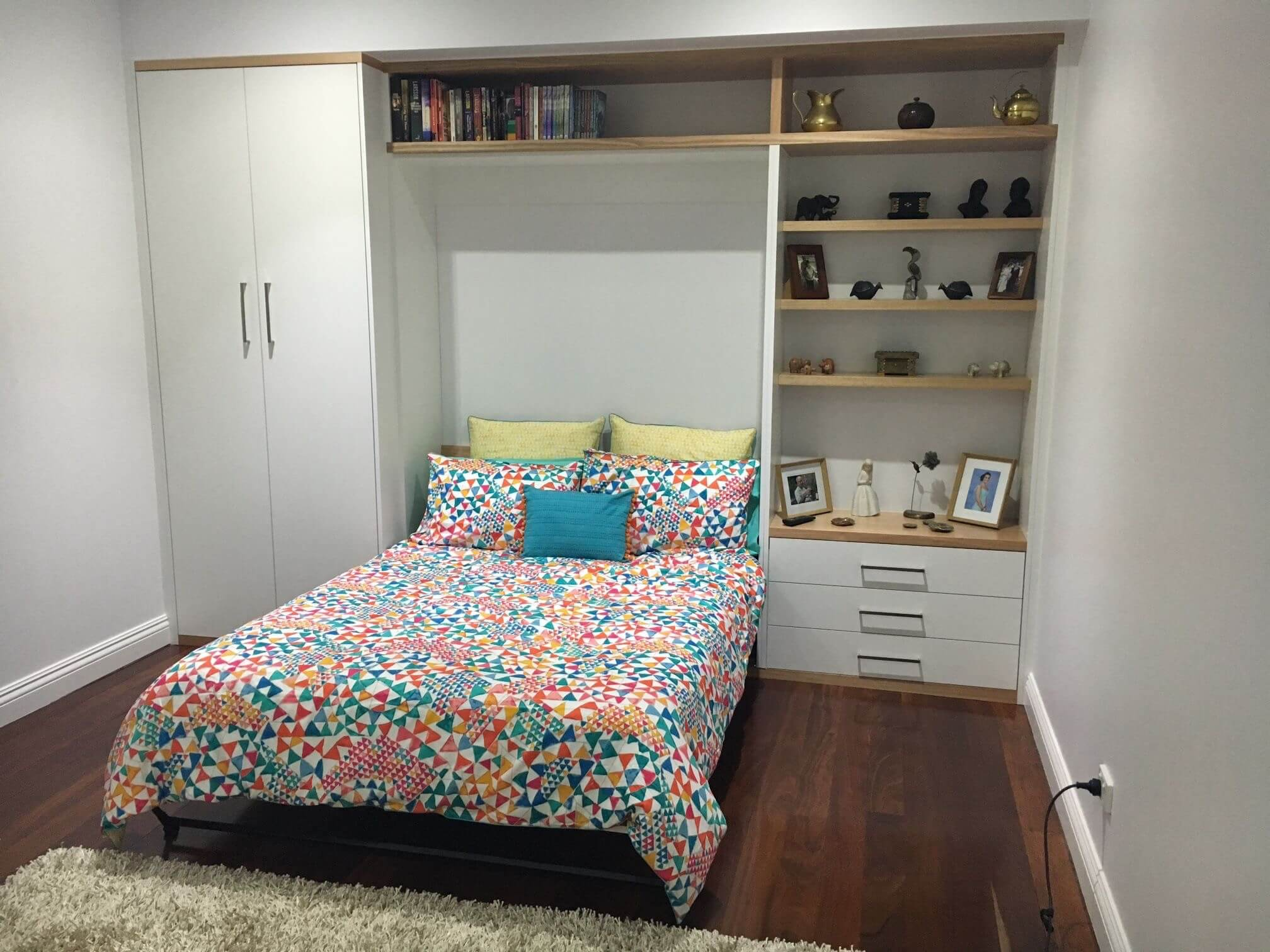What is a wall bed?